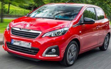 Κράτηση Peugeot 108 or similar *YEAR 2019 / *NO SMOKING