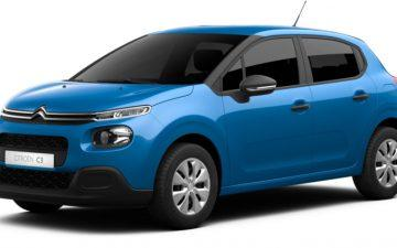 Rent Citroen C3 or similar *YEAR 2019 / *NO SMOKING