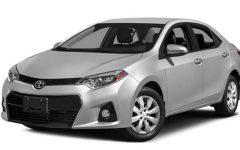 Toyota Corolla or similar *YEAR 2019 / *NO SMOKING